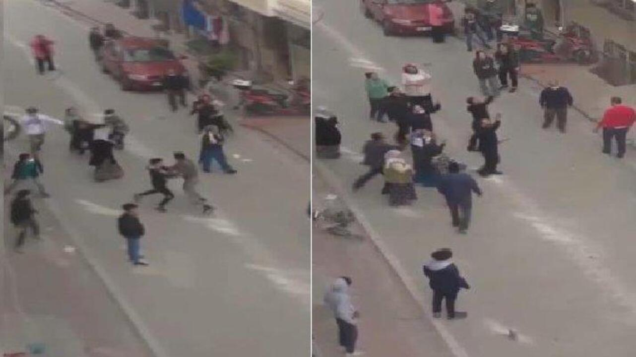 Sultangazi'de baltalı ve sopalı kavga!
