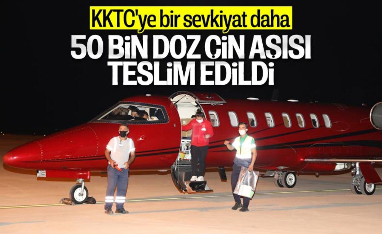 Türkiye'den KKTC'ye 50 bin doz aşı yardımı!