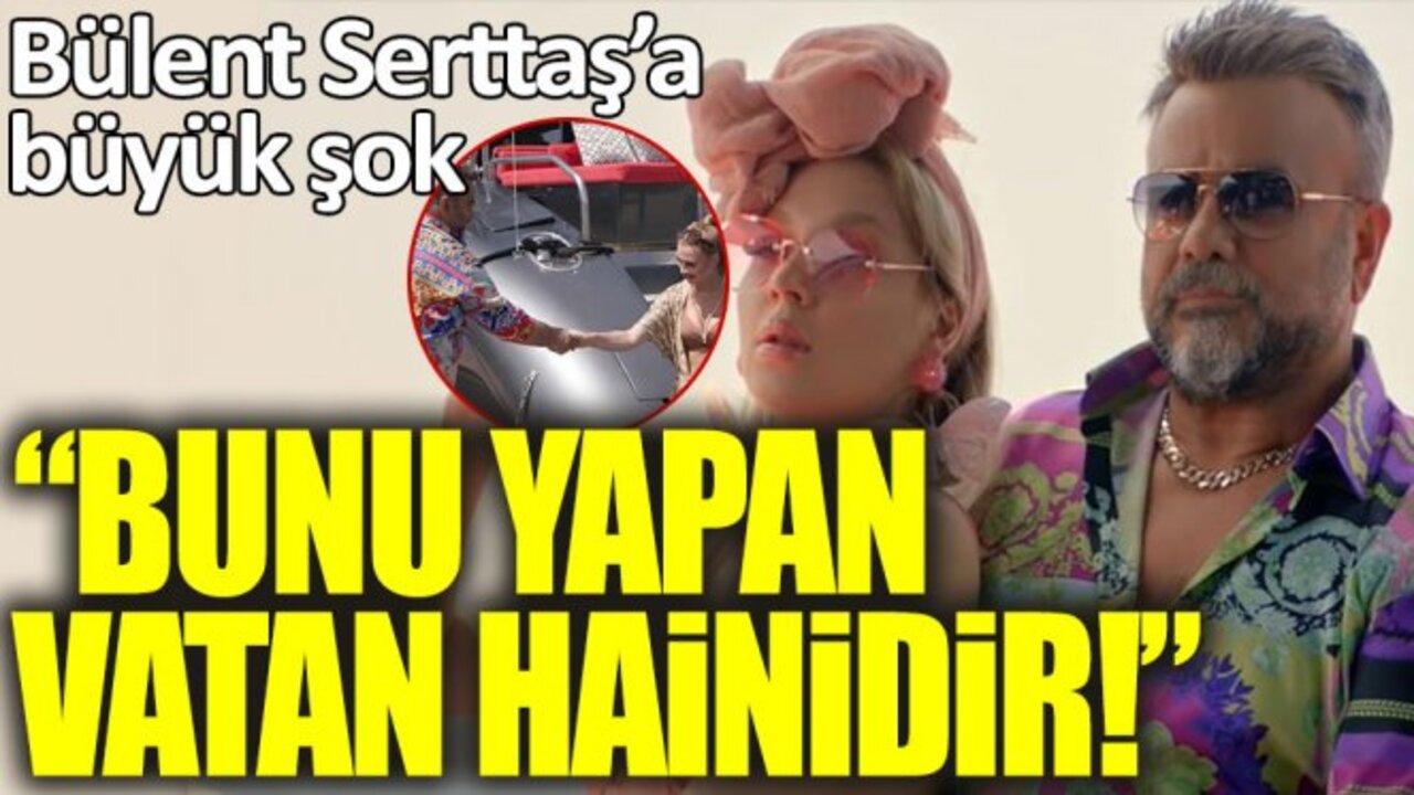 Akdeniz şarkısının klibi erotik bulunan Bülent Serttaş, verdi veriştirdi..