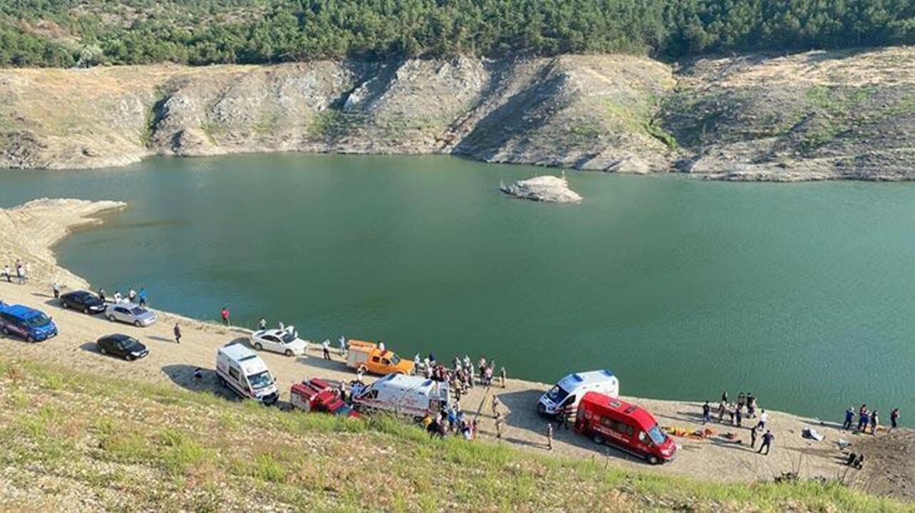 Amasya'da baraj gölünde aynı aileden 5 kişi kayboldu