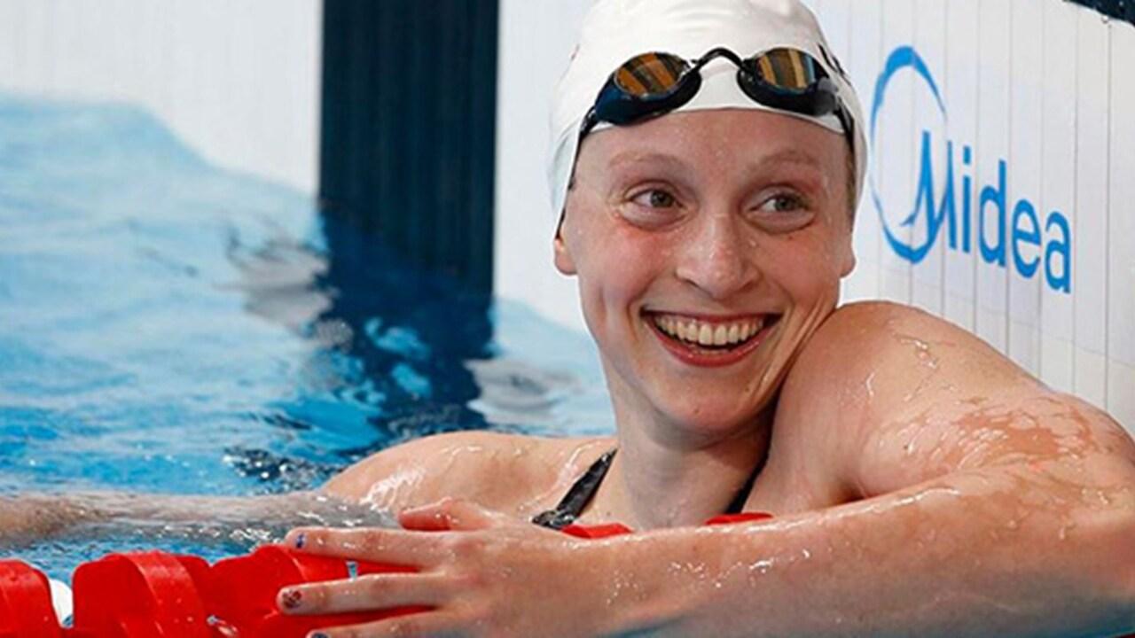 Amerikalı yüzücü Katie Ledecky olimpiyat rekoru kırdı