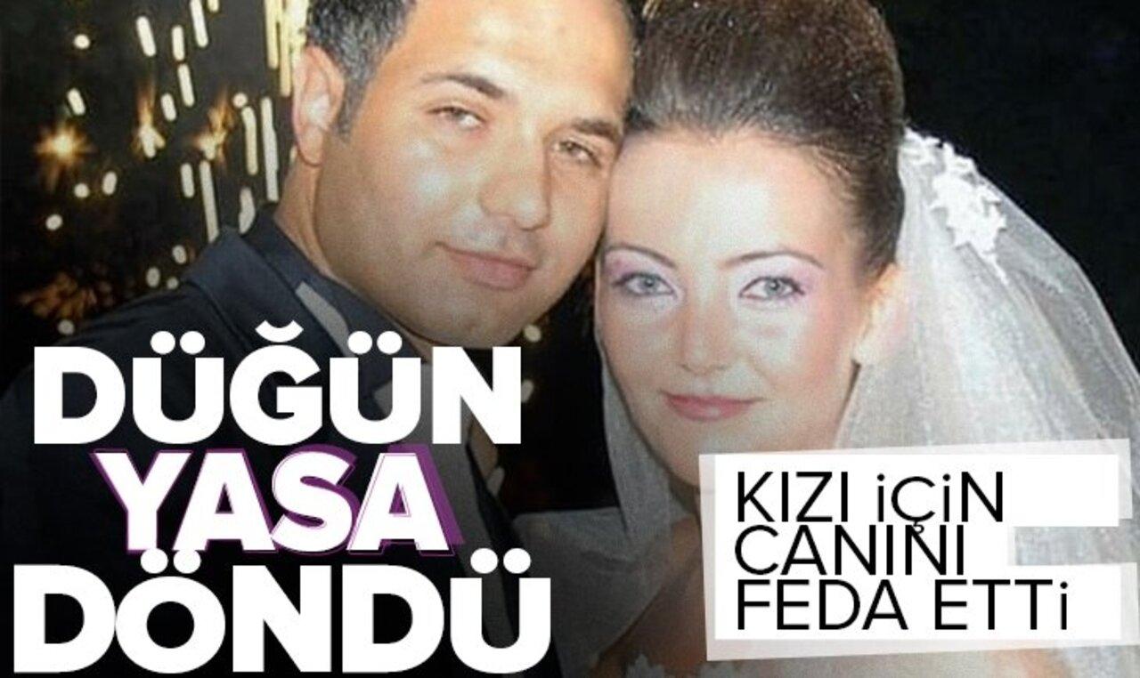 Antalya'da bir baba kızının hayatını kurtarmak için canını ortaya koydu!
