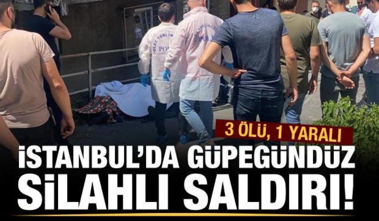 Beyoğlu'nda dünürlerin kavgası kandı bitti! 3 ölü..