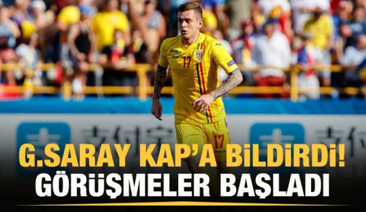 Galatasaray, Alexandru Cicaldau transferini KAP'a bildirdi!