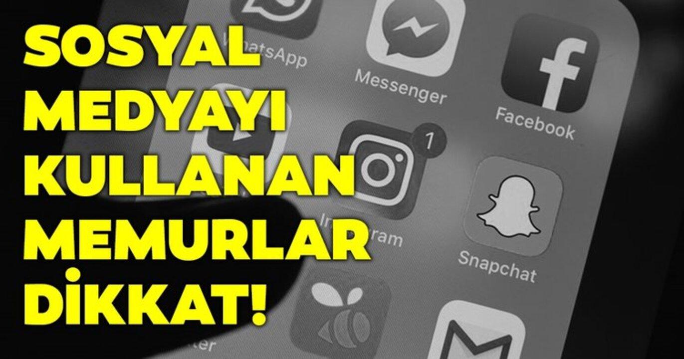 Memurlara sosyal medyada reklam ve işbirliği yapmak yasaklandı!