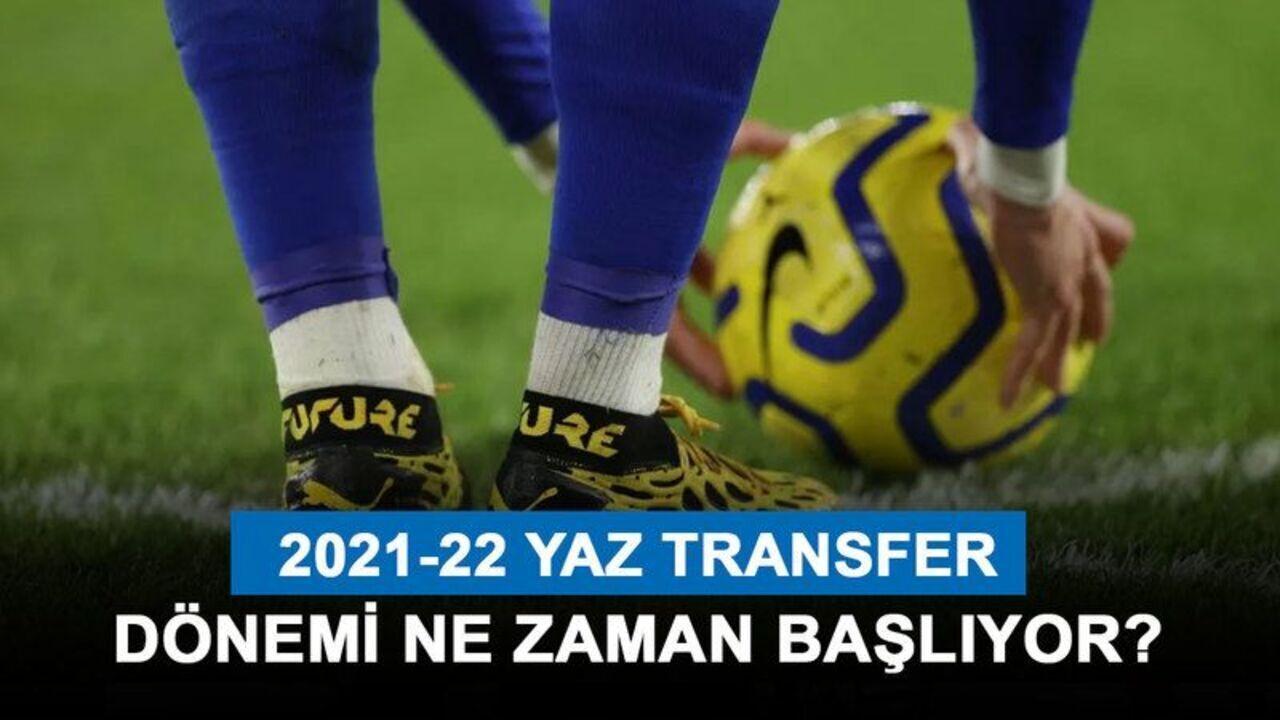 Süper Lig 2021-22 sezonu takımların yaz transferleri
