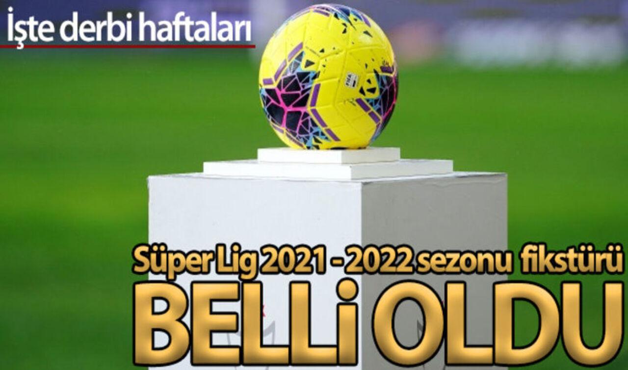 Süper Lig'de yeni sezonun ilk derbi maçı belli oldu!