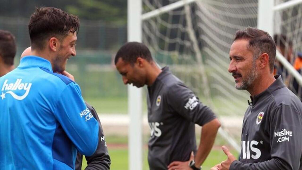 Vitor Pereira, Fenerbahçeli futbolculara antrenmanı sevdirdi