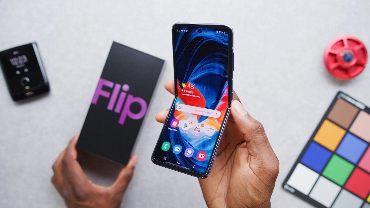 Xiaomi, Galaxy Z Flip'e benzer bir katlanabilir telefon patentini aldığını duyurdu