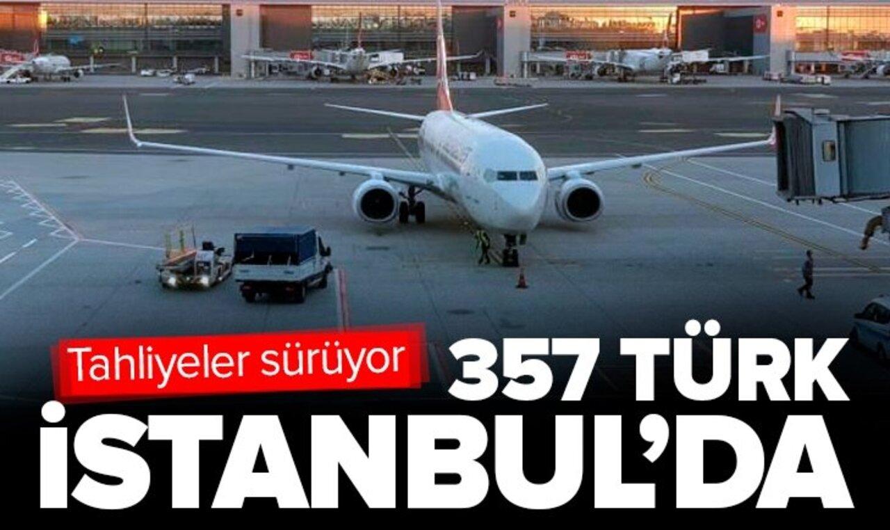Afganistan'taki 357 Türk Taliban'dan İstanbul'a getirilerek kurtarıldı!