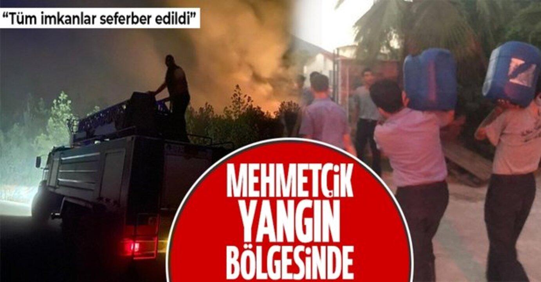 Alevlerle mücadele için yüzlerce Mehmetçik yangın bölgesinde!