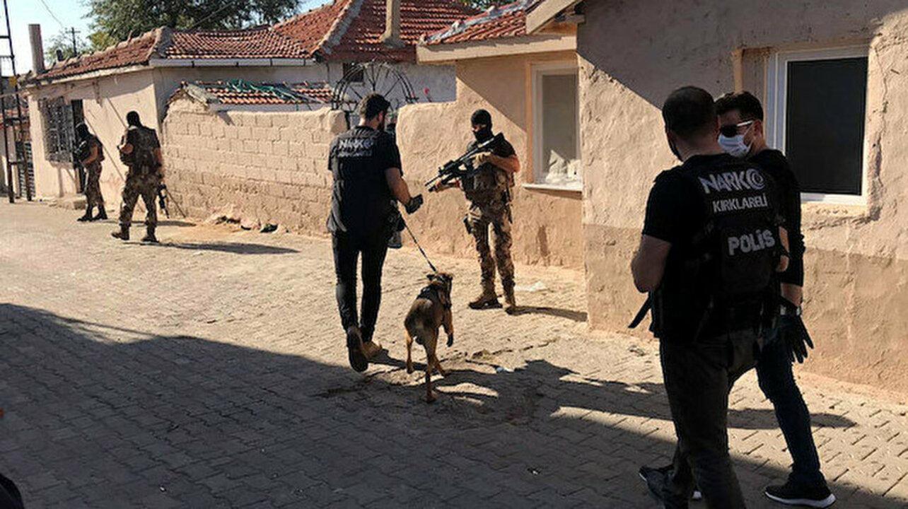 Ankara'da uyuşturucu tacirleri büyük darbe: 259 gözaltı