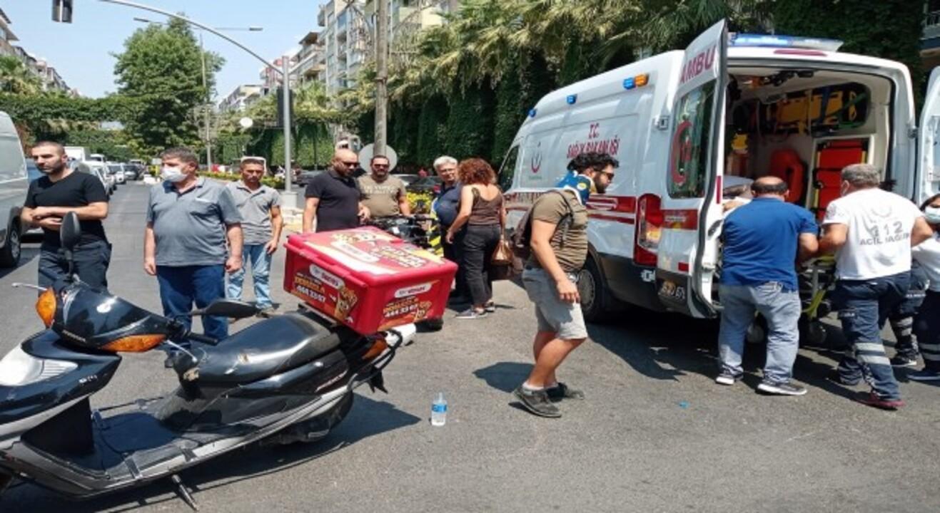Aydın'da iki motosiklet çarpıştı: 2 yaralı