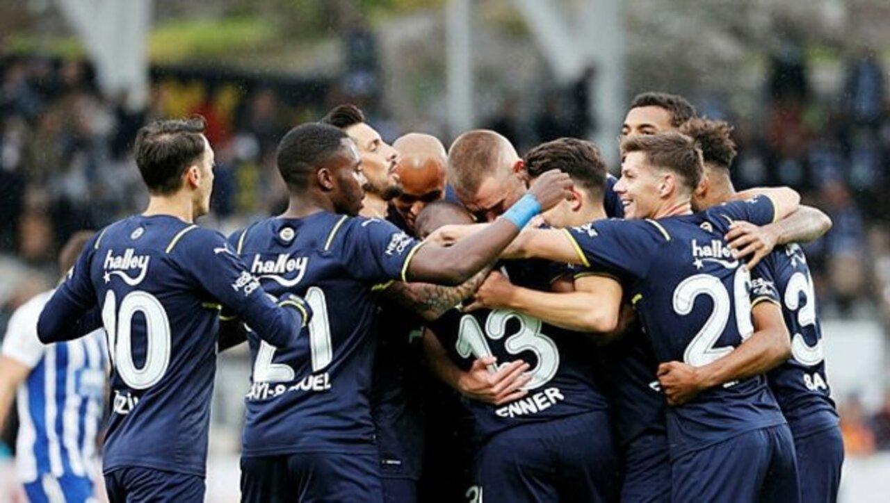 Fenerbahçe gençleriyle kazanmaya devam ediyor