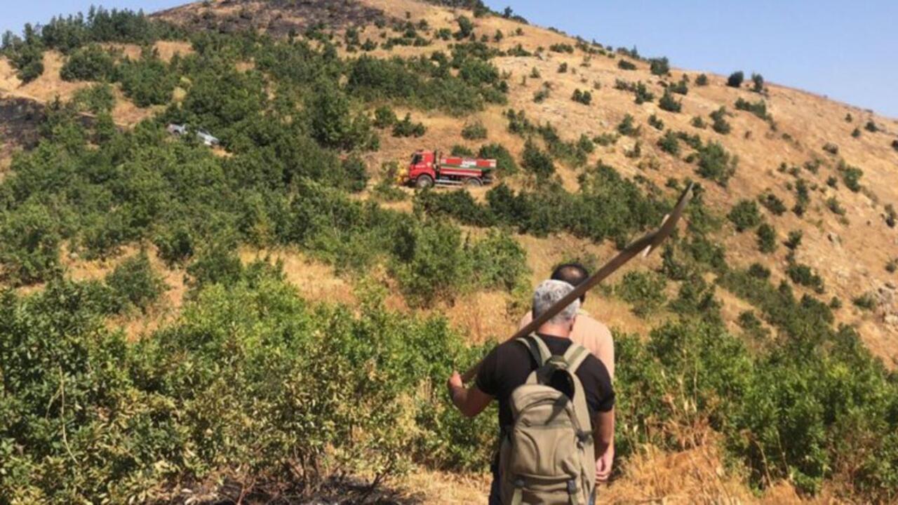 Hakkari Şemdinli'de üç gündür devam eden yangın kontrol altına alınmak üzere