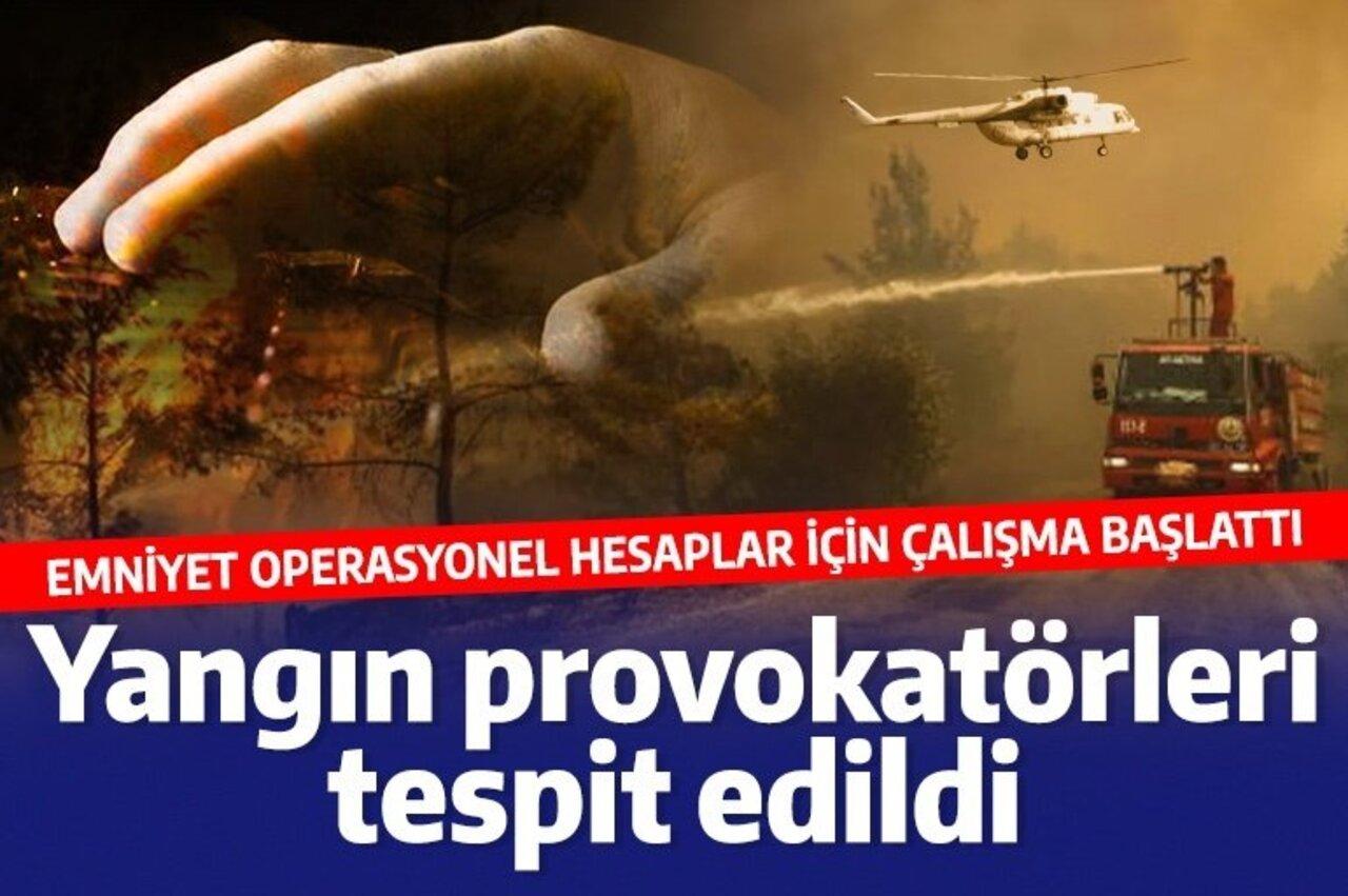 Hesapları inceleyen siber suçlar, 66 yangın provokatörü şüphelisini tespit etti!
