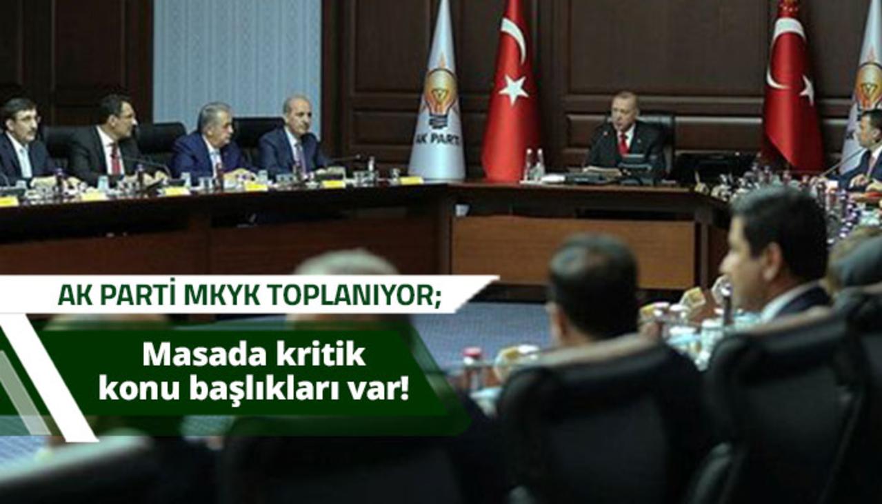 Kritik MKYK toplantısı Cumhurbaşkanı Erdoğan başkanlığında toplanıyor!