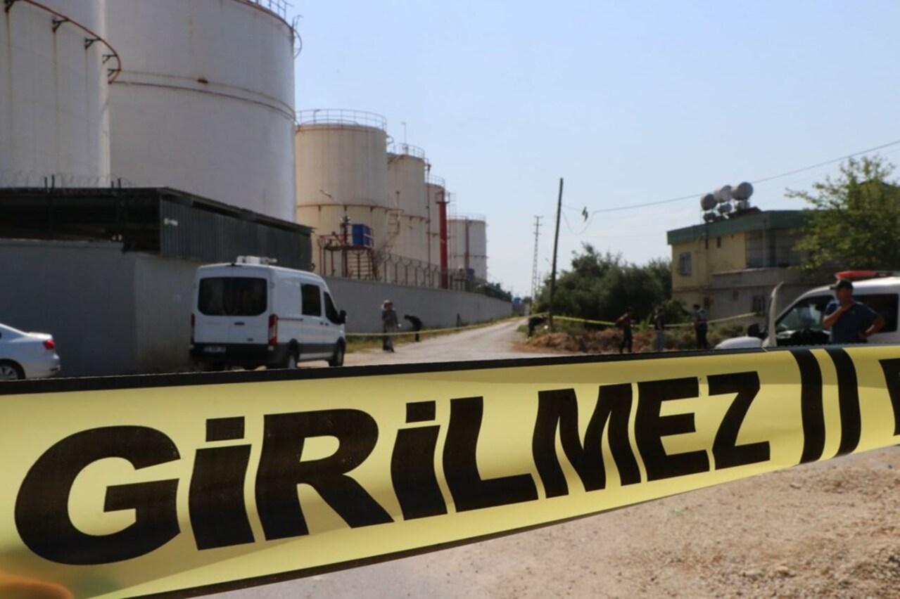 Mersin'de petrol tesisinde korkutan patlama