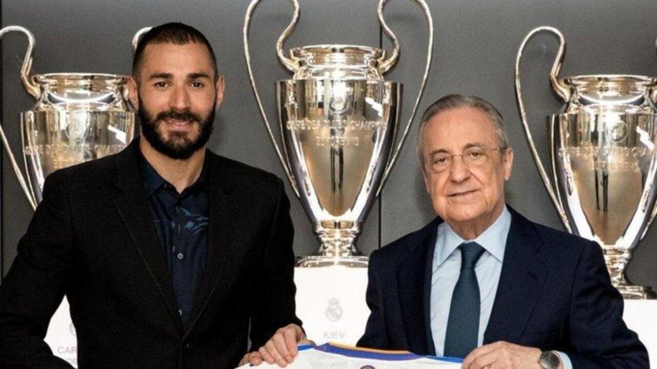 Real Madrid Karim Benzema ile 2 yıllık yeni sözleşme imzaladı