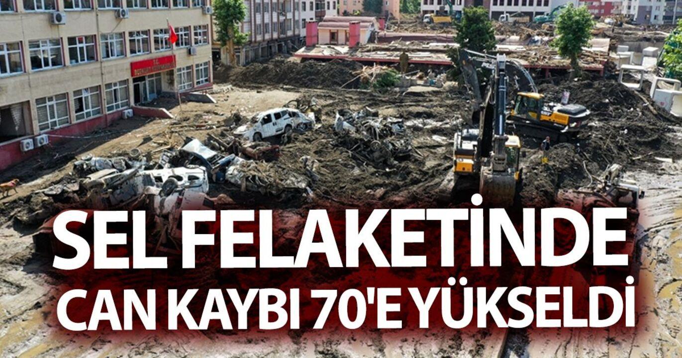 Sel felaketinde 3 ilde can kaybı sayısı 70'e çıktı!