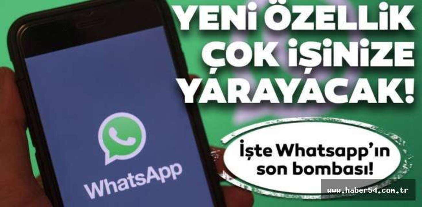 Whatsapp, kullanıcıların merakla beklediği yeni özelliğini duyurdu!