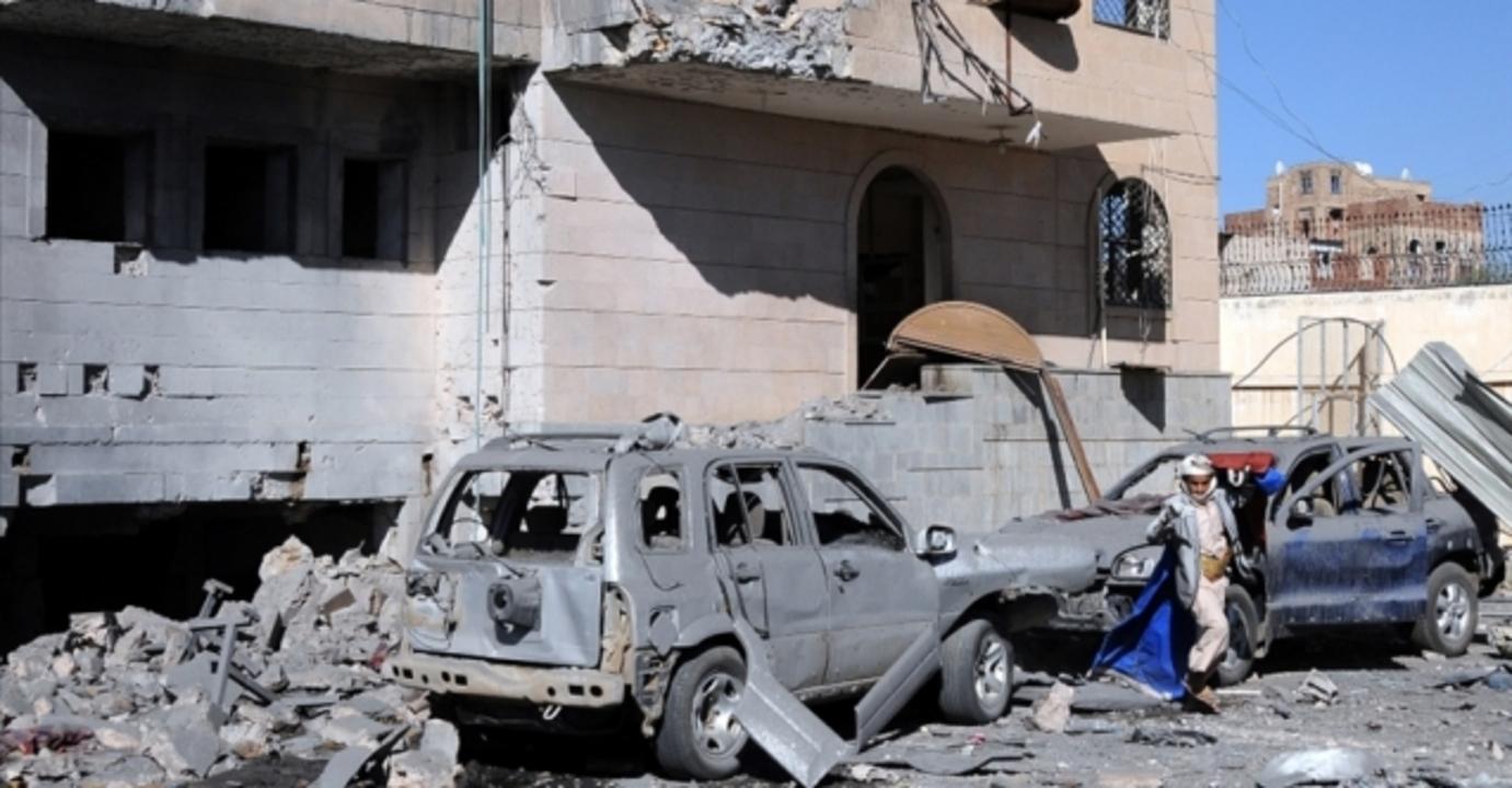 Yemen'in batısında bulunan Marib'e düzenlenen hava saldırısında 10 kişi hayatını kaybetti