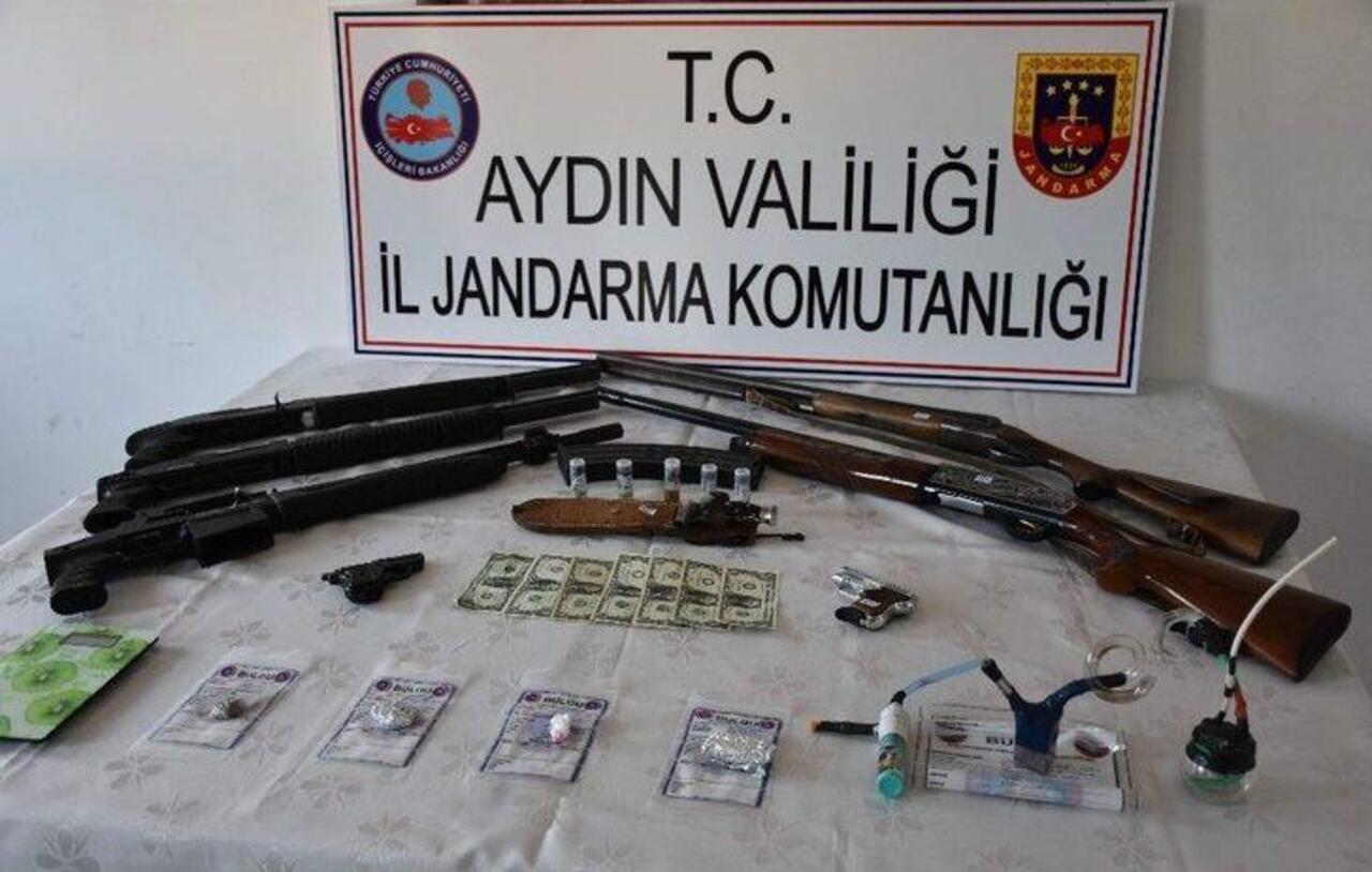 Aydın'da uyuşturucu tacirlerine dev darbe
