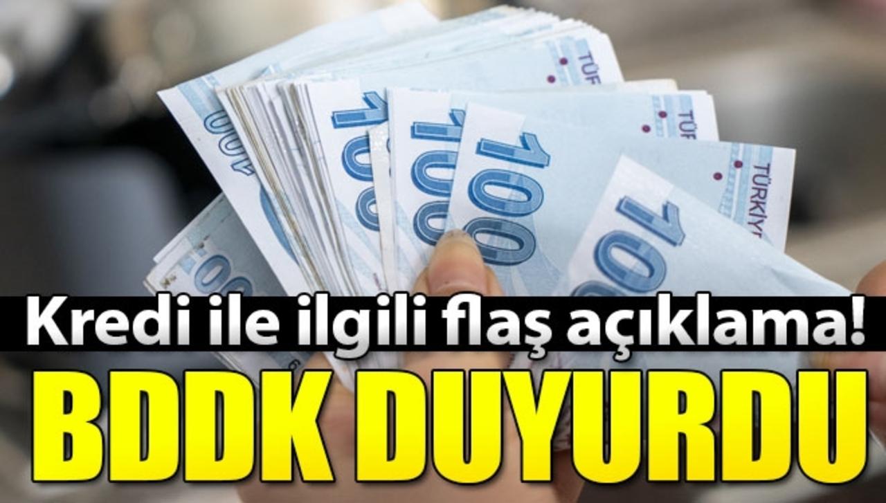 BDDK Başkanı Akben'den kredi sistemi açıklaması!