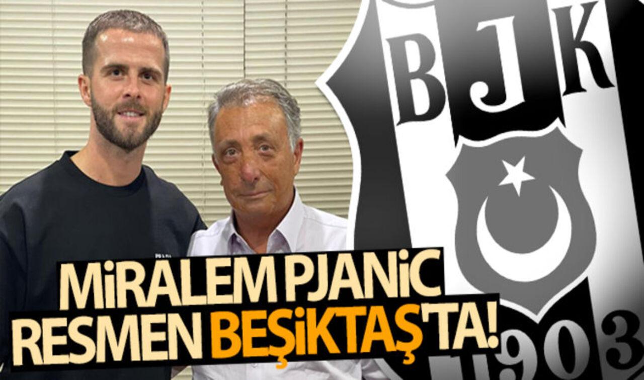 Beşiktaş, Miralem Pjanic'i renklerine bağladı!
