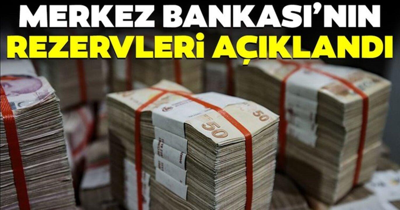Merkez Bankası'ndan para ve banka istatiği: Rezervler 118,3 milyar dolara çıktı!