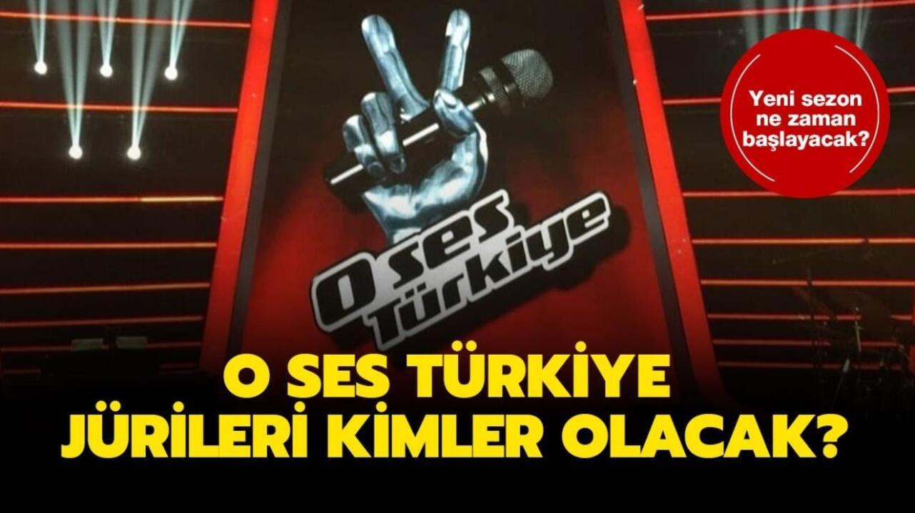 O Ses Türkiye ne zaman başlıyor? O Ses Türkiye yeni jüri üyeleri kimler oldu?