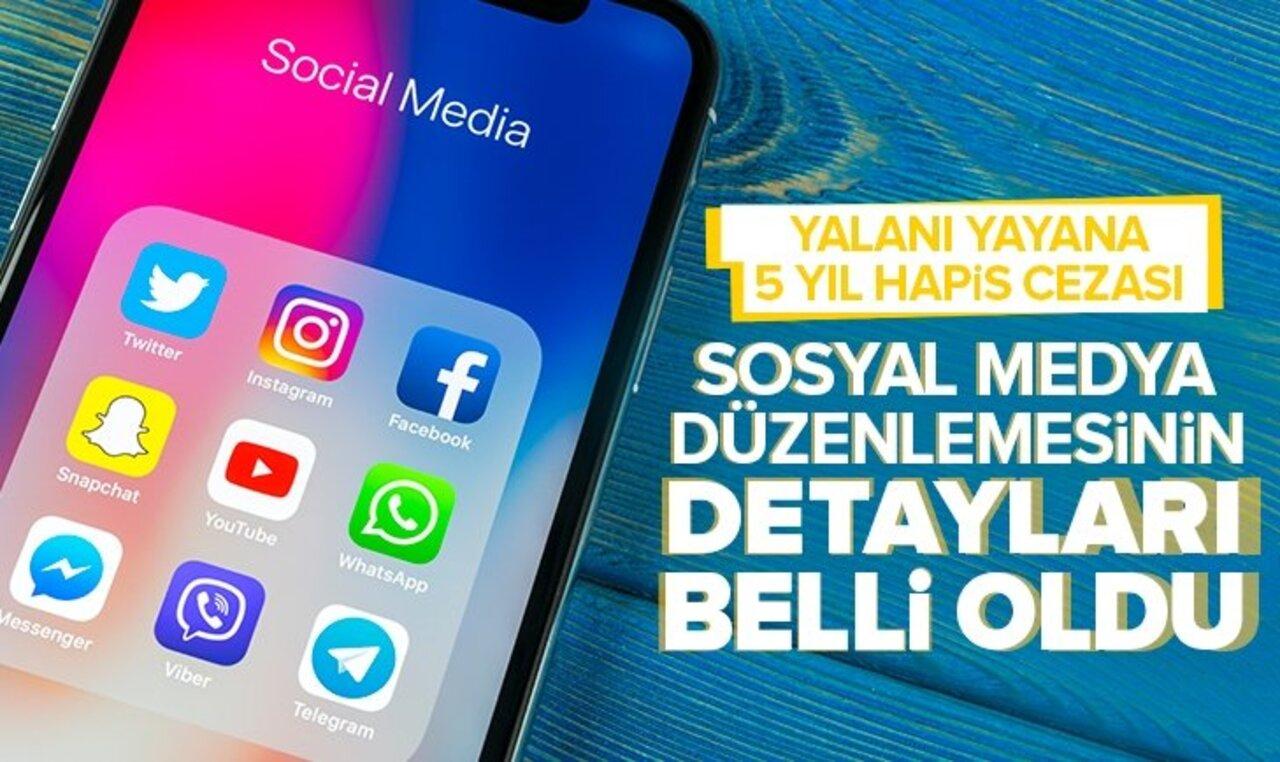 Sosyal medya düzenlemesinin detayları netleşmeye başladı