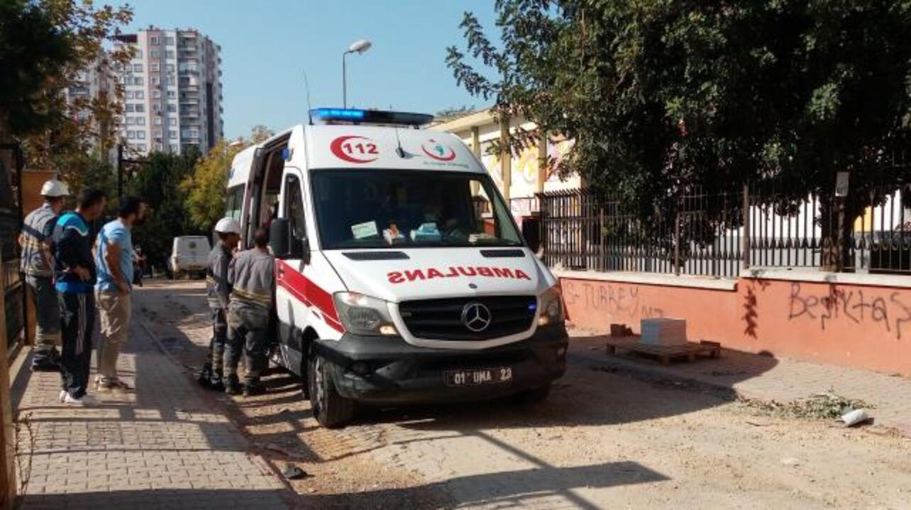 Adana'da arıza için trafoya giren işçi akıma kapıldı