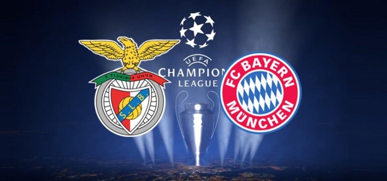 Benfica Bayern Münih maçı ne zaman, saat kaçta ve hangi kanalda? UEFA Şampiyonlar Ligi Benfica Bayern Münih maçı şifresiz mi?