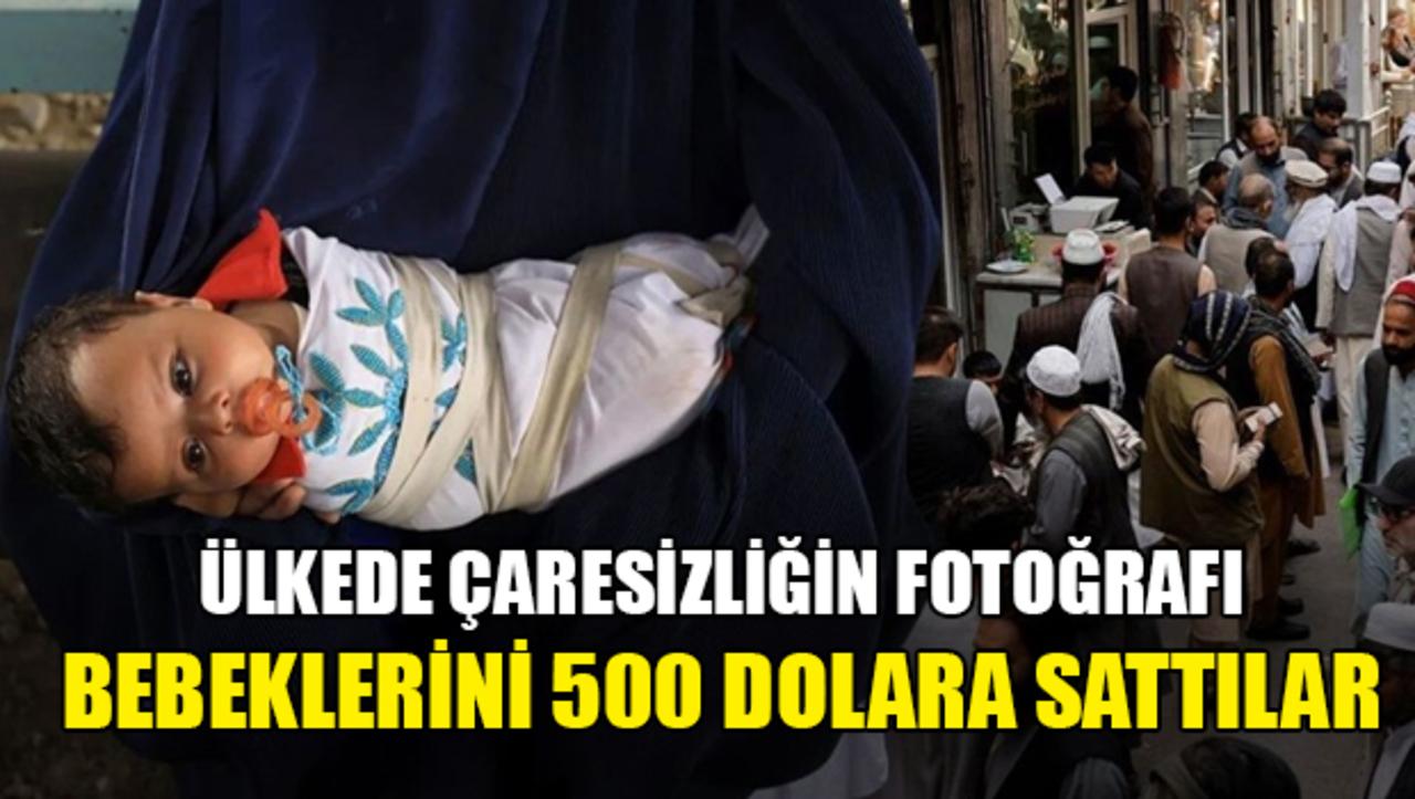 Dünya Afganistan'da kız bebeğini 500 dolara satan aileyi konuşuyor!