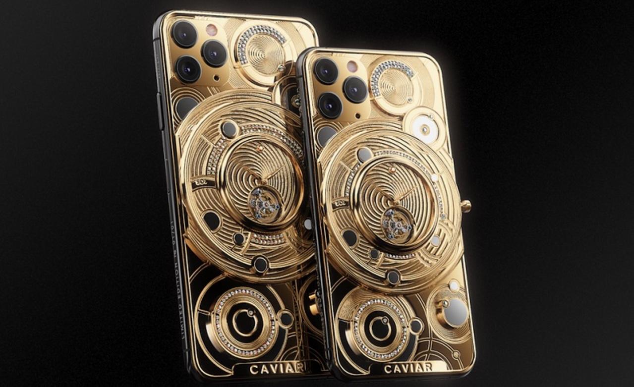 Ev fiyatına altın kaplama iPhone 13 Pro Max