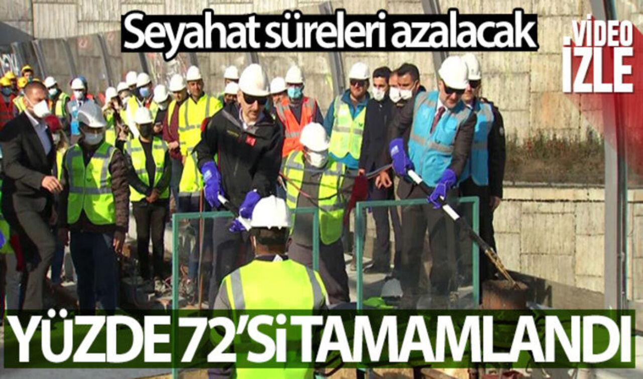 İstanbul'a yeni metro hattıyla seyahat süreleri 20 dakikaya kadar düşecek!