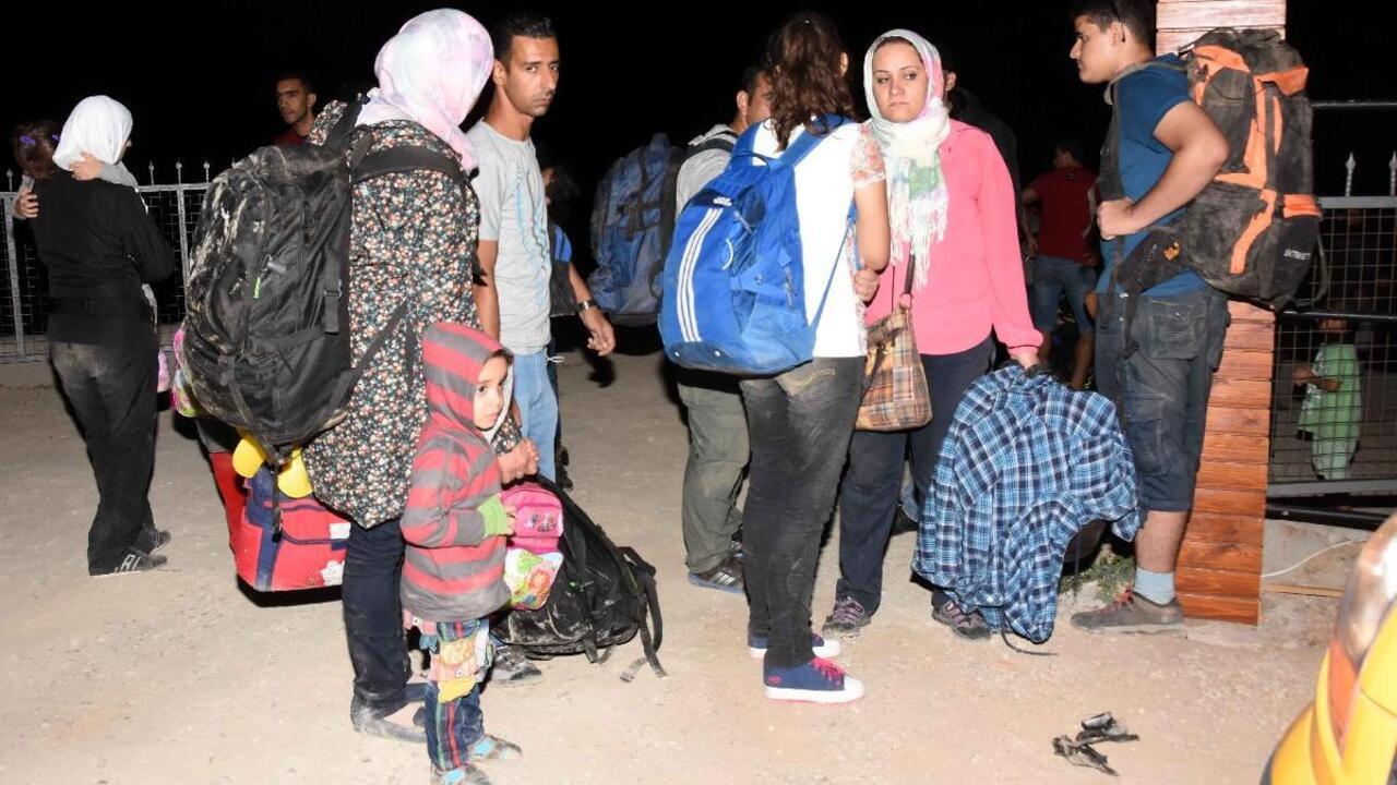 Kırklareli'nde Afganistan ve Pakistan uyruklu 57 kaçak göçmen yakalandı