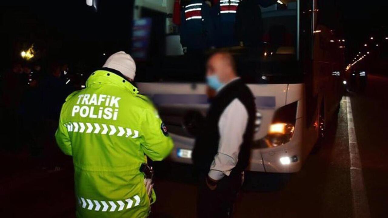 Konya'da kurallara uymayan 4 binden fazla sürücüye ceza verildi