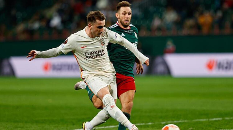 Lokomotiv Moskova karşısında golünü atan Kerem Aktürkoğlu takımına galibiyeti getirdi