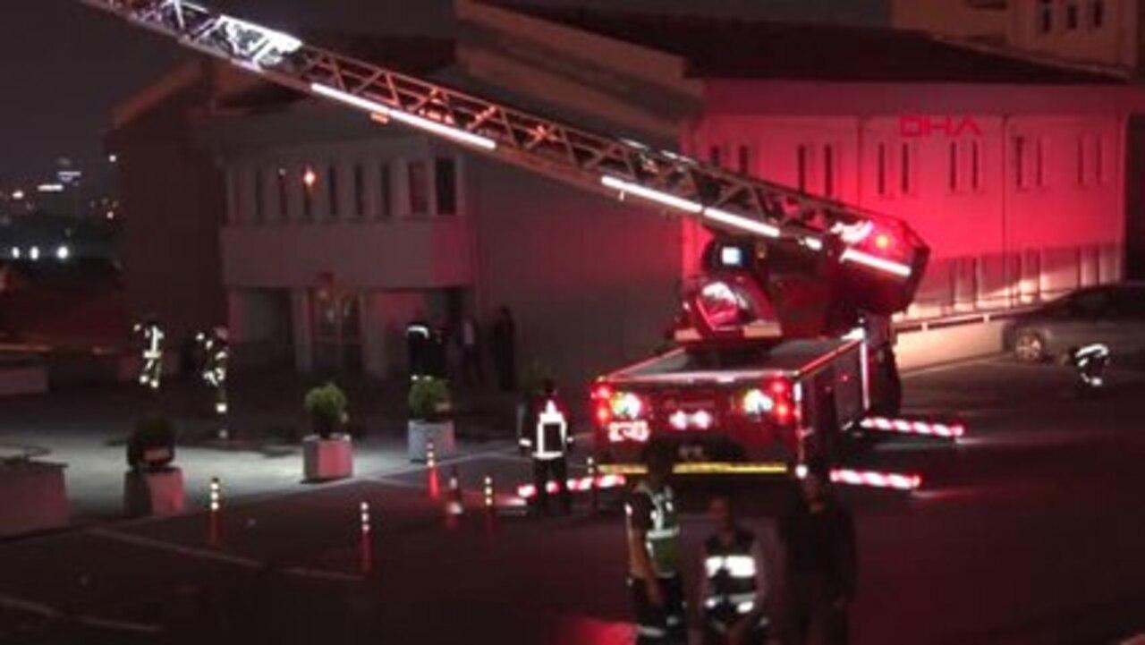 Polatlı otobüs terminalinde yangın çıktı