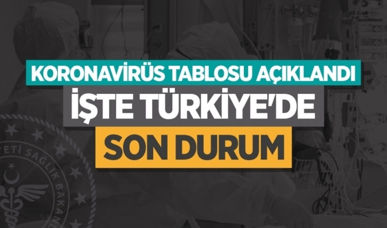 Sağlık Bakanlığı, 26 Ekim verilerini gösteren günlük vaka ve vefat sayılarını açıkladı!