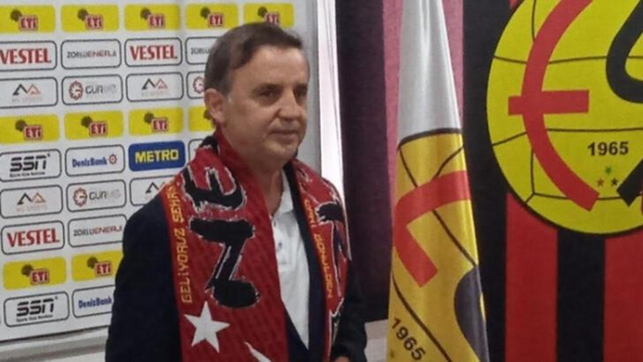Suat Kaya Eskişehirspor'un teknik direktörü oldu