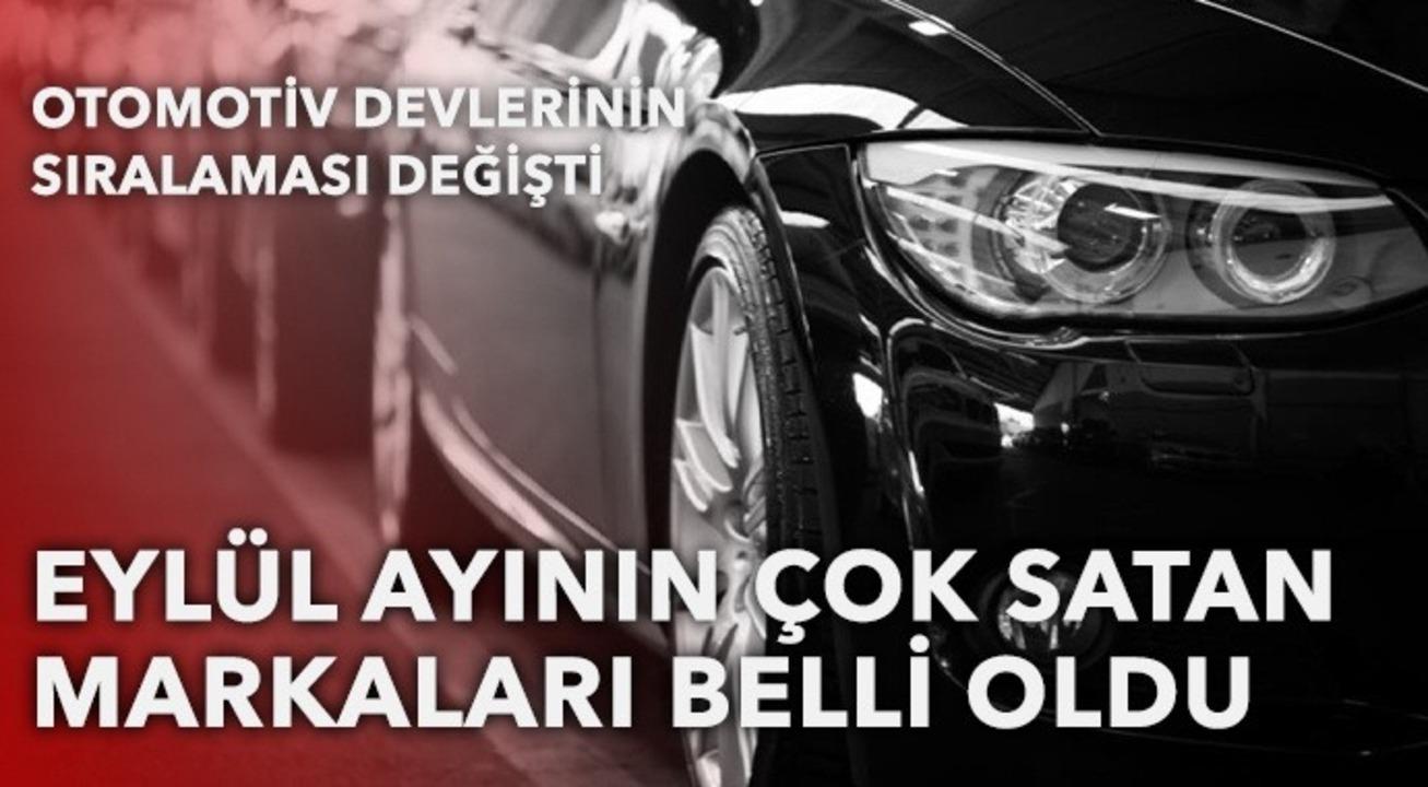 Türkiye'de Eylül ayının en çok satan otomobilleri belli oldu