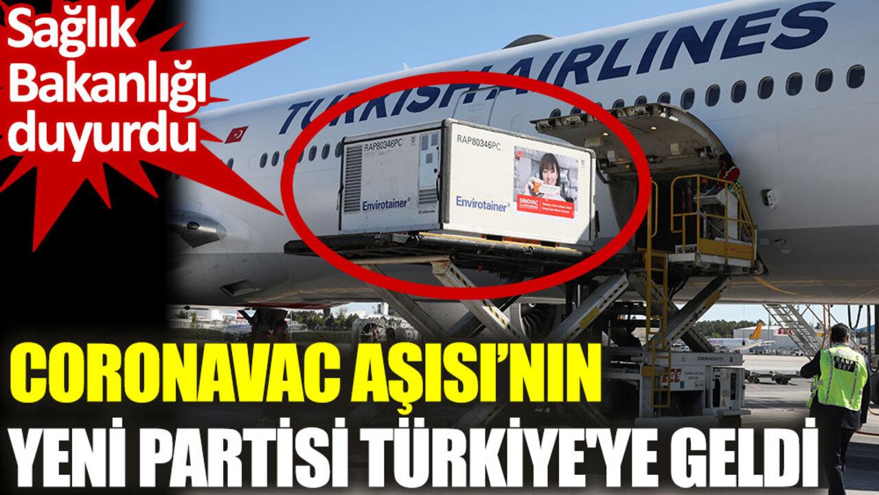 Çin'den gelmesi beklenilen SinoVac aşılarının yeni partisi Türkiye'ye ulaştı!
