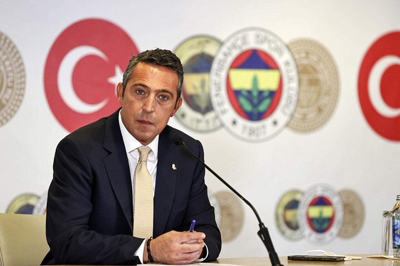 """Ali Koç, taraftara seslendi: """"Pazartesi günü teknik direktörü açıklayabiliriz"""""""