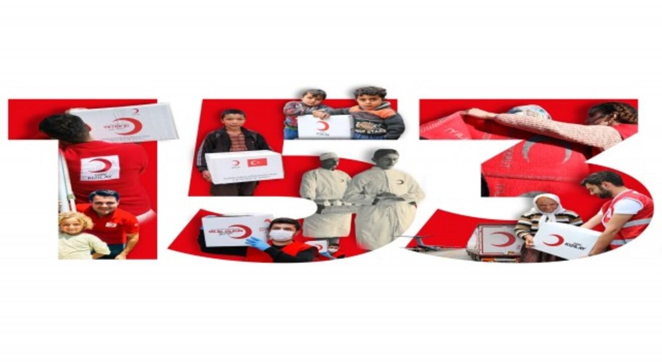Dünyanın dört bir yanına iyilik dağıtan Kızılay kuruluşunun 153. yılını kutluyor