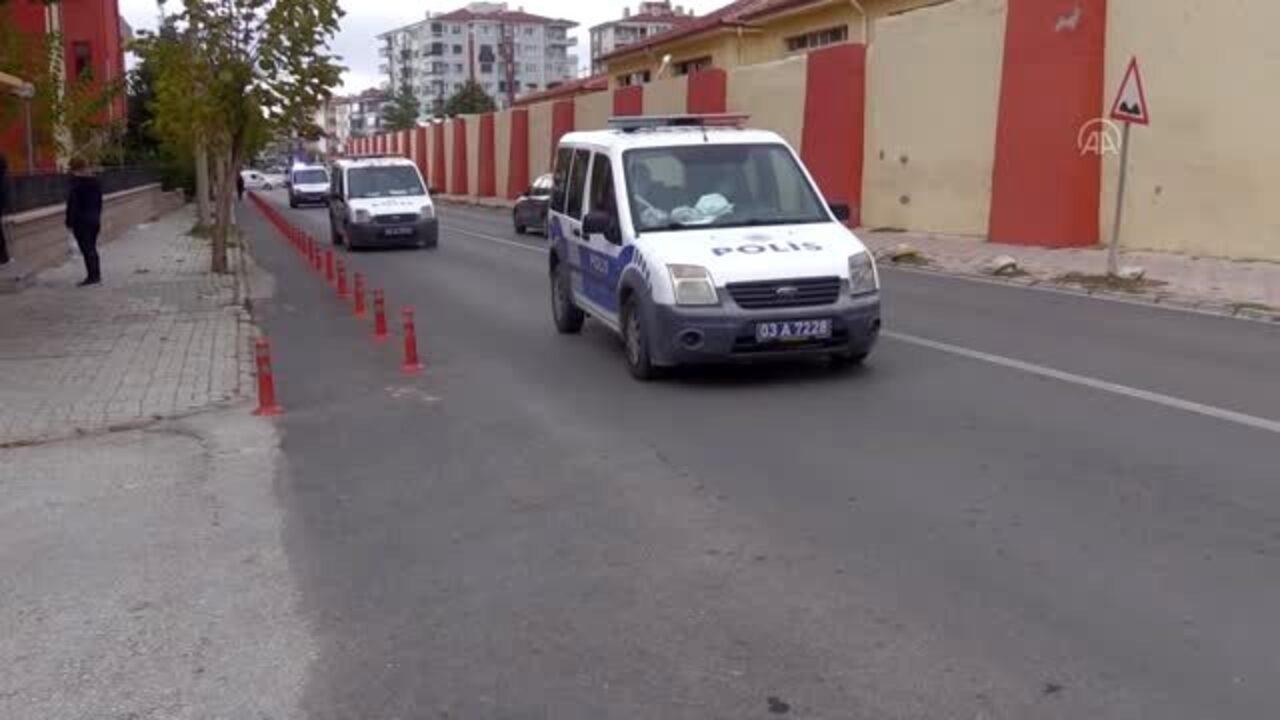 Afyonkarahisar'da polise mukavemet gösteren bir kişi tutuklandı