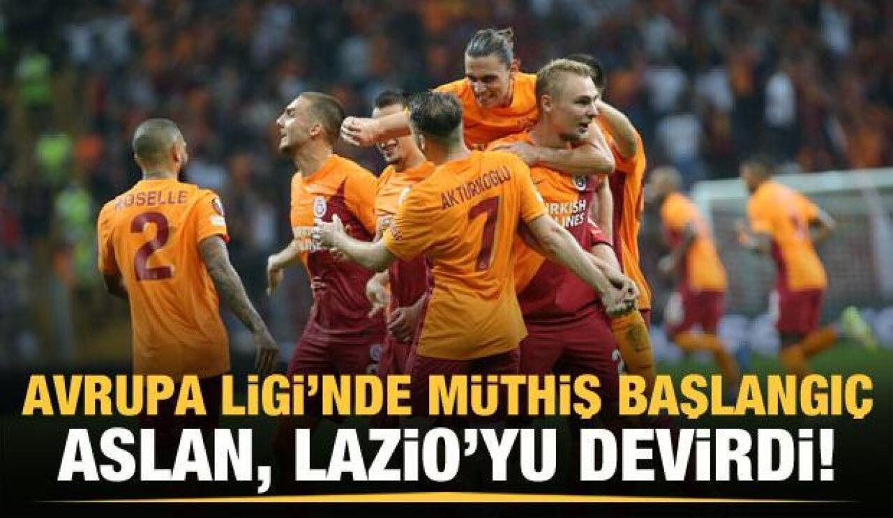 Galatasaray Avrupa Ligi'ndeki ilk maçını kazandı