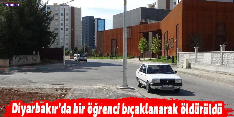 """Diyarbakır'da """"yan baktın"""" kavgasında 17 yaşındaki lise öğrencisi bıçaklanarak öldürüldü"""